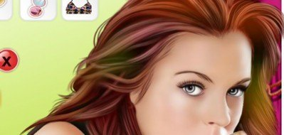 Lindsay Lohan Celebrity Makeover