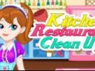 Kitchen Restaurant Clean Up
