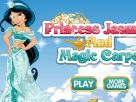 Princess Jasmine and Magic Carpet