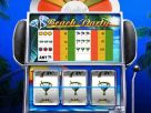 Slot machine beach party