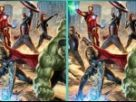 The Avengers Spot the Differences